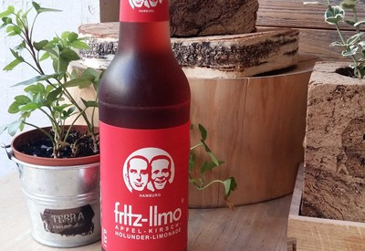 Fritz-limo apple, cherry and elderberry